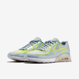 59317beea2aa Nike Air Max 90 Ultra 2.0 SI (Women) - White Glacier Blue
