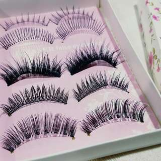5 Pairs Different Style Fake Eyelashes #under20