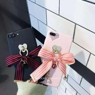 愛心寶石蝴蝶結手機殼🎀