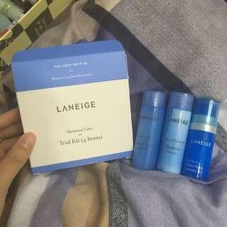 laneige moisture care trial kit