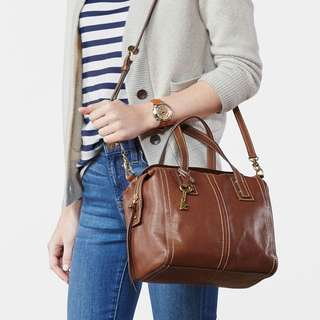 (Pre-Loved) Authentic Fossil Emma Satchel