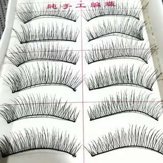 10 Pairs Fake Eyelashes