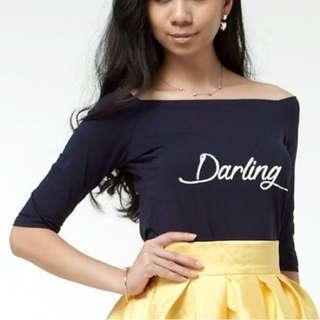 BRAND NEW! Darling Off-shoulder Top