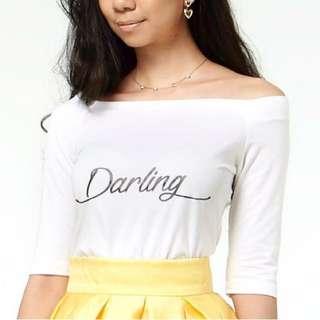 BRAND NEW! Off-shoulder Darling Top