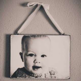Personalised Wooden Photo Prints