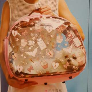 🚚 ibiyaya  獨家專利透明設計寵物提包