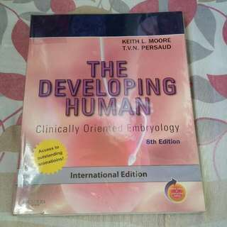 Moore And Persaud The Developing Human 8th Edition
