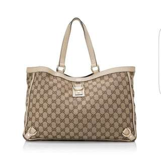 Gucci Abbey D Ring Tote