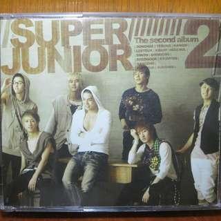 Super Junior CD + DVD 2nd album Don't Don