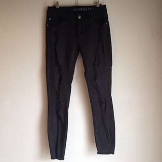 Cotton On Ripped Skinny 7/8 Jeans
