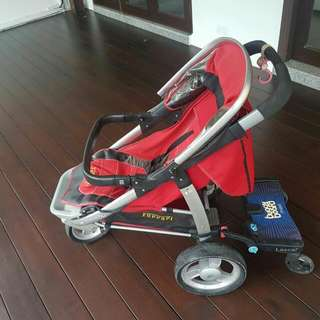 Ferrari Joggers Stroller With Extra Rear Standing Board
