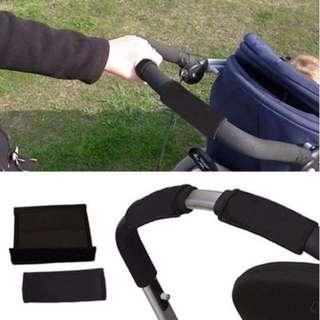 Stroller Grip Cover ★ Stroller Handle Bar Cover ★Pram handle grip cover ★Handle Proctector