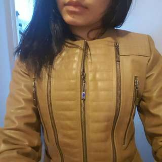 Aje Leather Jacket - Size 6