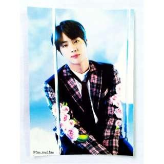BTS Official Wings Tour Paper Frame - Jin