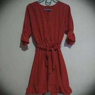 Mini Dress.. Dijual Karena Sempit Pas Dicoba