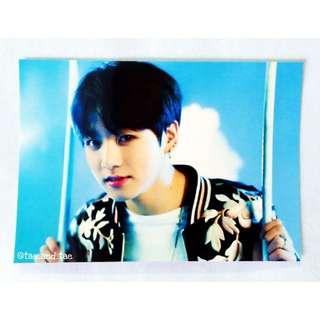 BTS Official Wings Tour Paper Frame - Jung Kook