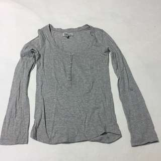 Bershka Long Sleeve Blouse