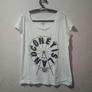 Zara Trafaluc Loose Tshirt