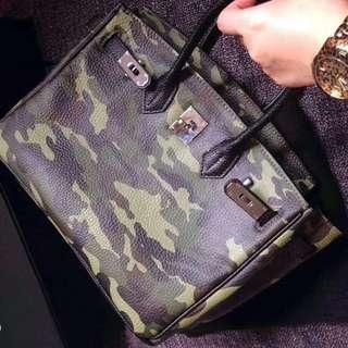Camo Mini Satchel Bag