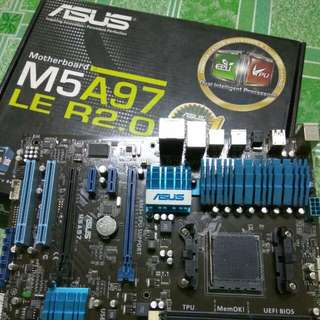 ASUS motherboard M5A97 LE R2.0