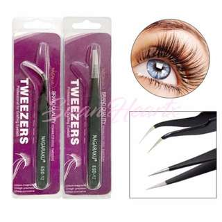 Tweezers for Eyelash Extensions Application