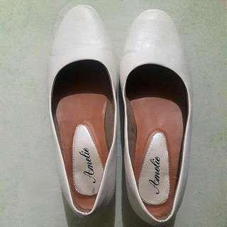 Sepatu Putih - Wedges/Heels White