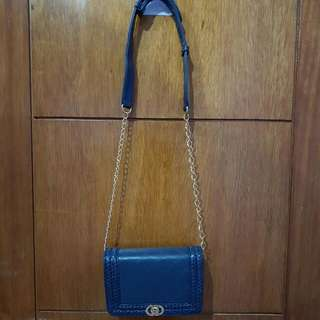 Colorbox Navy Small Sling Bag