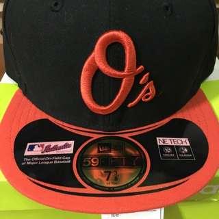 New Era 大聯盟巴爾的摩金鶯隊客場球帽