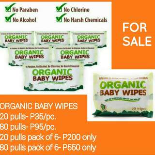 Organic Baby Wipes