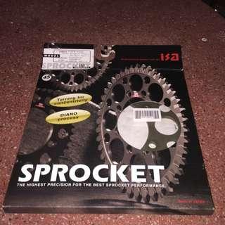 ISA Sprocket 45T 520chain