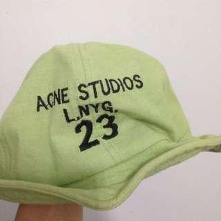淺綠色漁夫帽 歐美字母