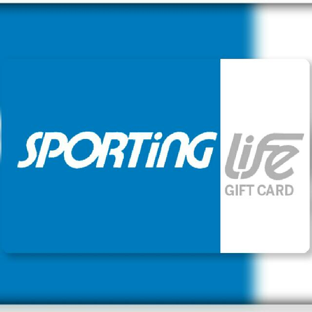$364 Sporting Life Gift card