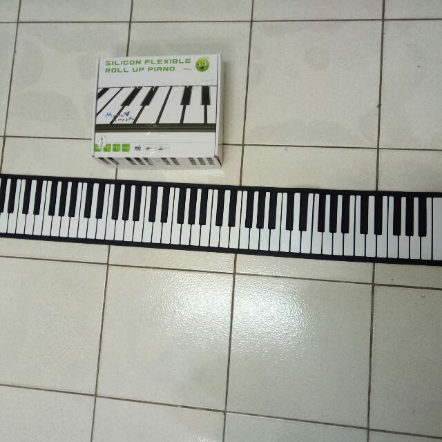 手捲88鍵電子琴