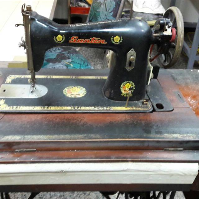 阿嬤裁縫機
