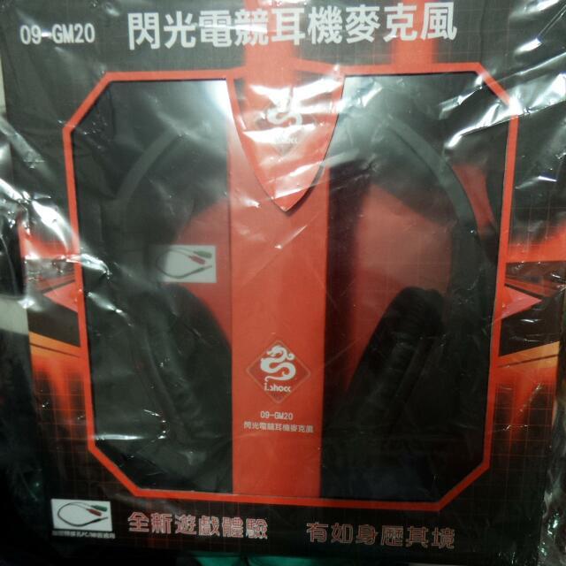 閃光電競耳機麥克風