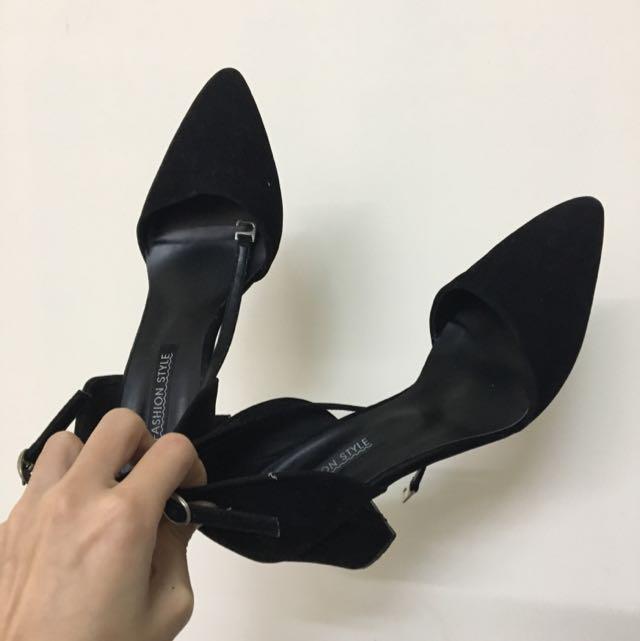 尖頭高跟鞋 24.5