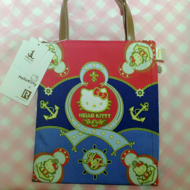 日本購回 Hello Kitty限量手提袋