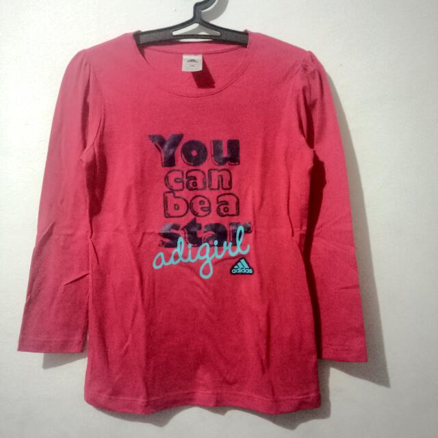 Adidas Girl Long Tshirt