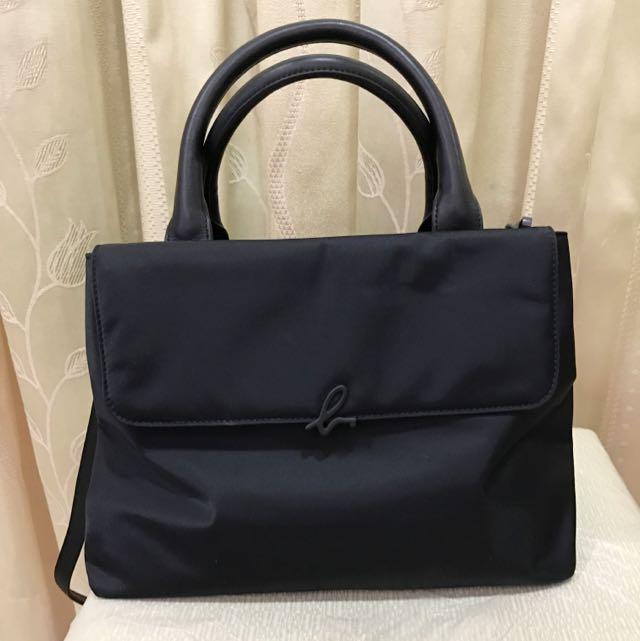 Agnes b可拆式側背包/手提包