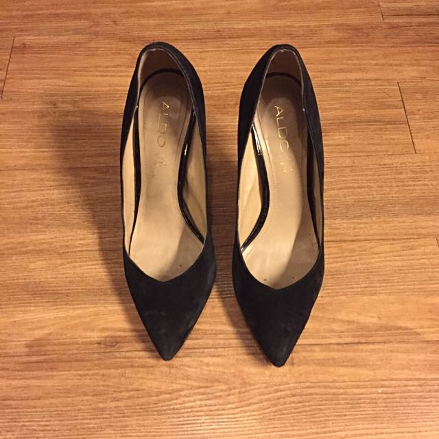 Aldo Black Pumps 3.5""