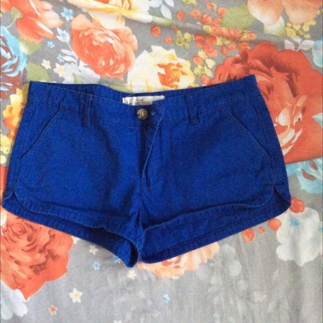 American Eagle Blue Shorts