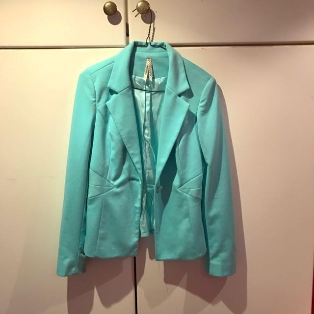Aqua Blazer Size 10