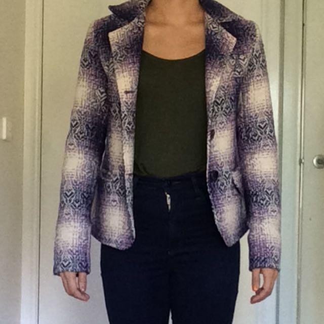 Arabella Ramsay Sz 10 Blazer Coat