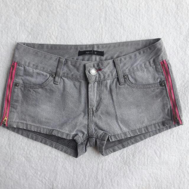 Ash Gray Shorts