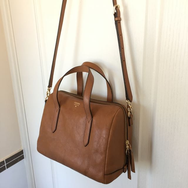 Authentic Fossil Sydney Satchel