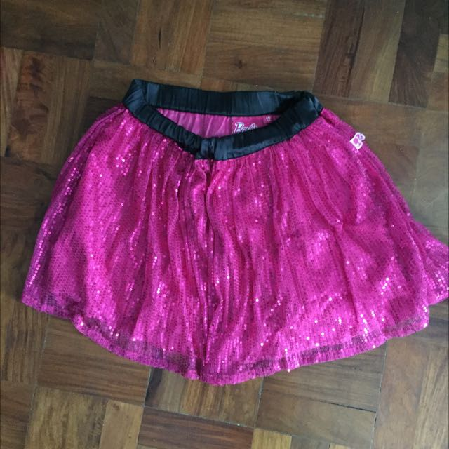 Barbie Sequined Skirt Size 12