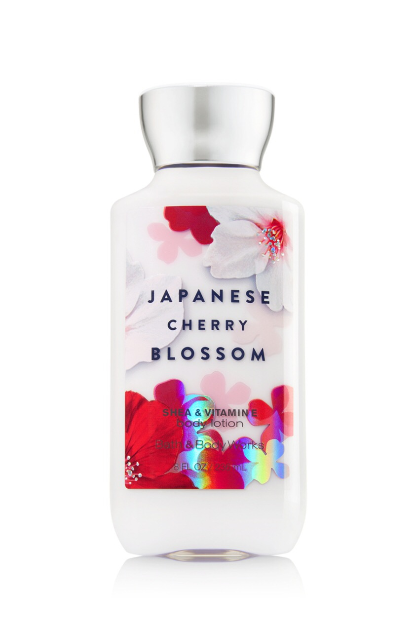 "Bath and Body Works Lotion ""Japanese cherry blossom"""