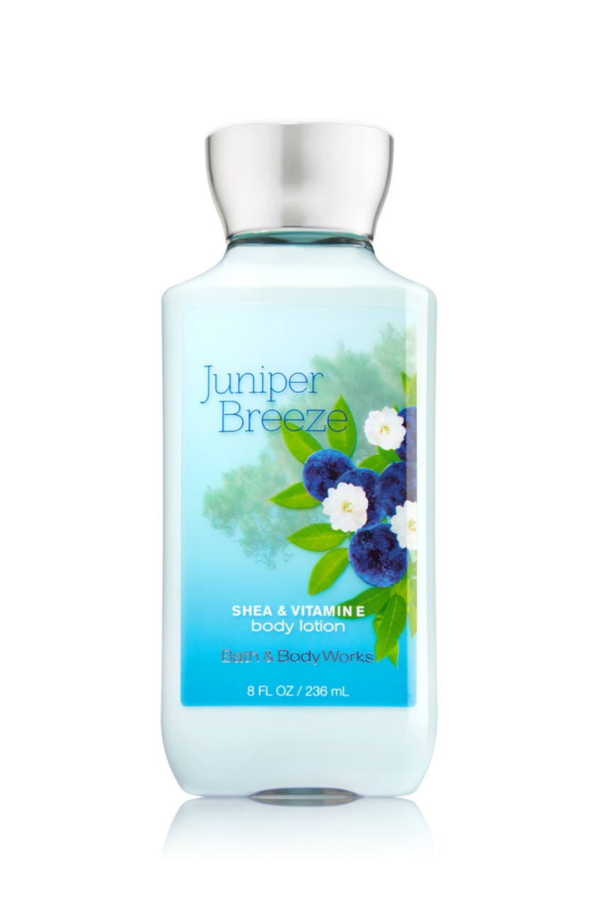 "Bath and Body Works Lotion ""Juniper breeze"""
