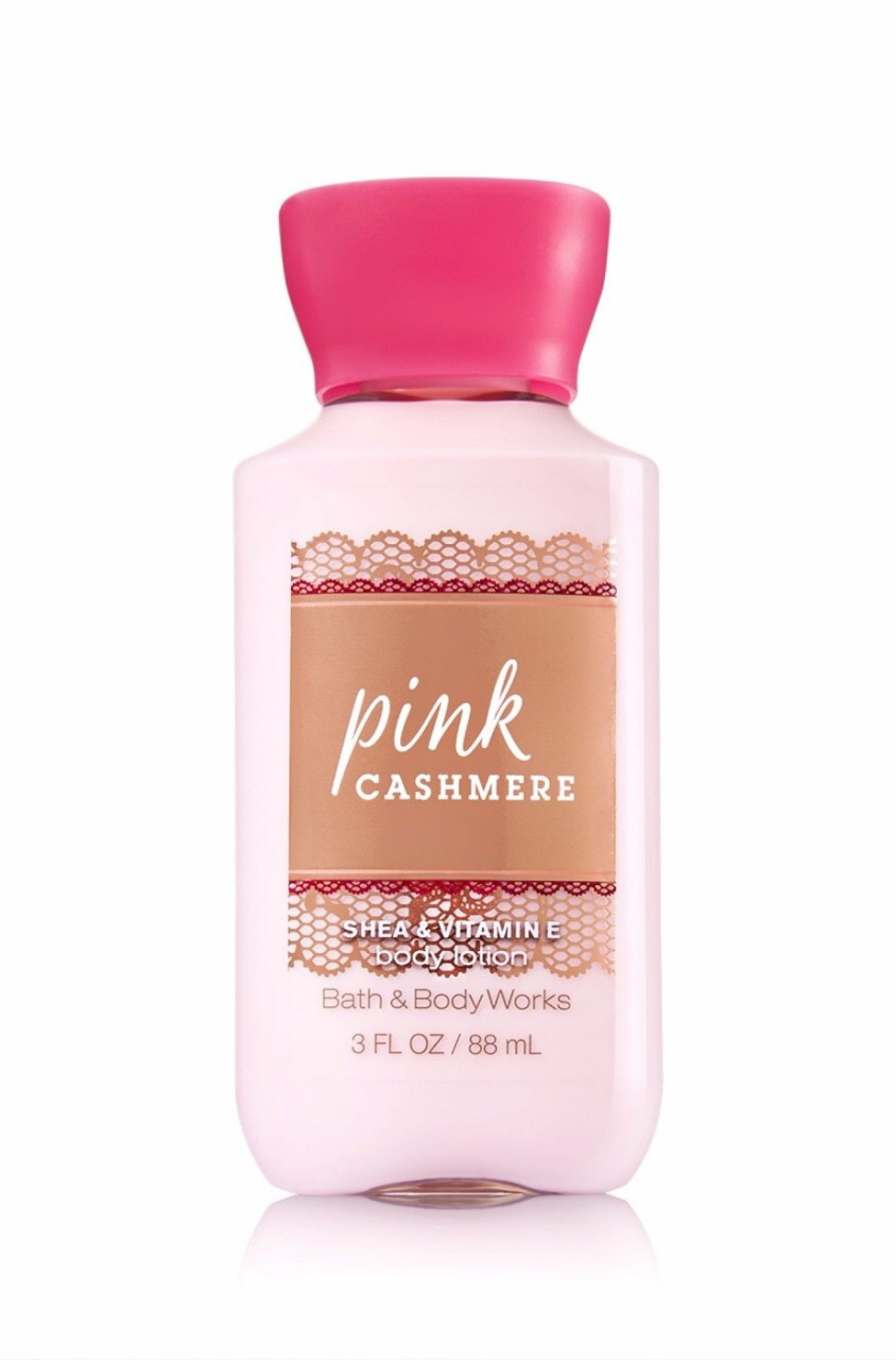 "Bath and Body Works Lotion ""Pink cashmere"""