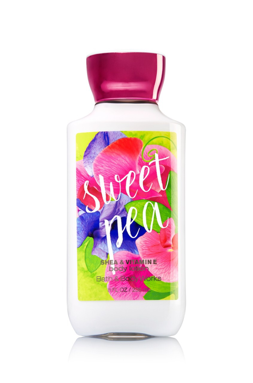 "Bath and Body Works Lotion ""Sweet pea"""
